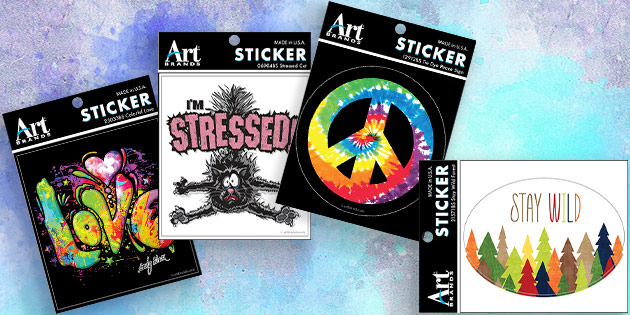 Art Brands Stock Stickers