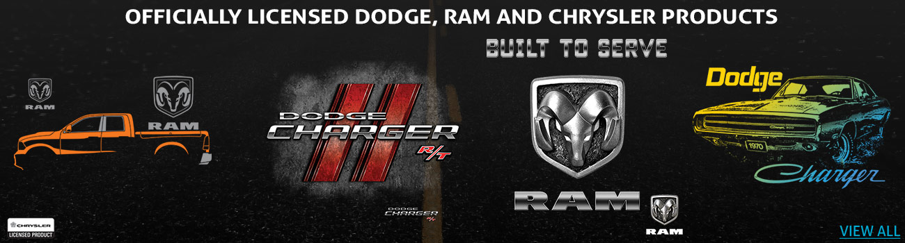 Chrysler Dodge RAM Licensed Heat Transfers