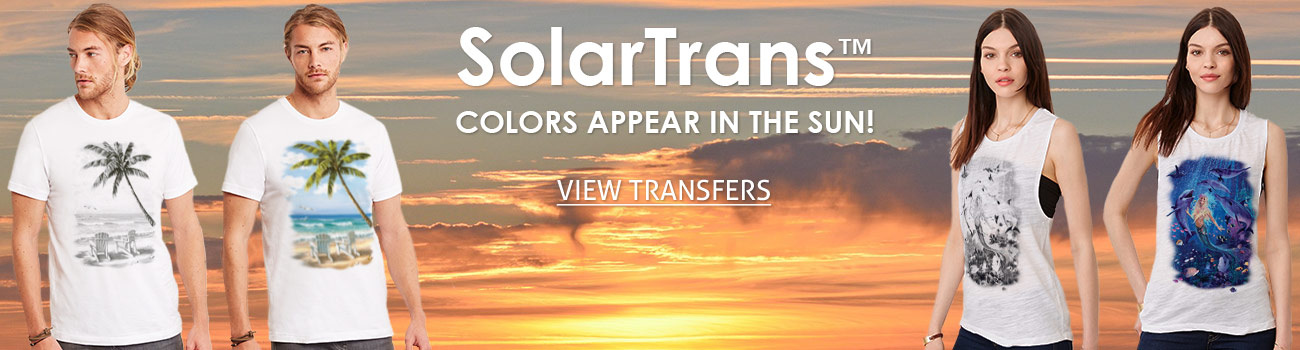 Color Changing Sunlight Solar Heat Transfers