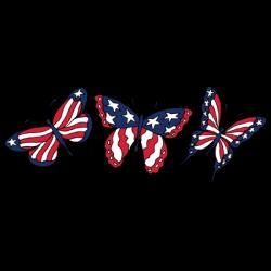 FLAG BUTTERFLIES