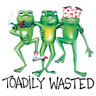 TOADILY WASTED