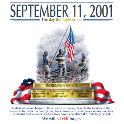 9-11-2001 NEVER FORGET