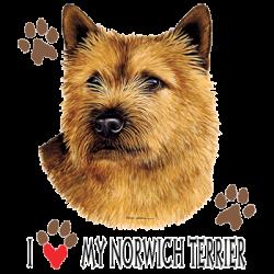 I HEART MY NORWICH TERRIER