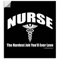 NURSE JOB STICKERS