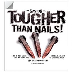 TOUGHER THAN NAILS STICKERS