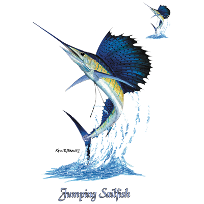 JUMPING SAILFISH W/ CREST