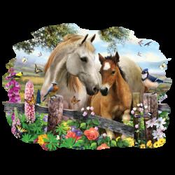 HOLLYHOCK HORSES