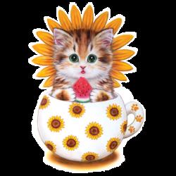 CUP KITTY SUNFLOWER