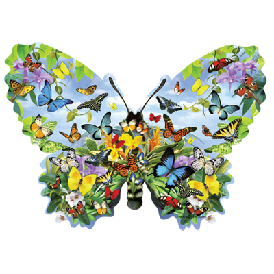 BUTTERFLY SHAPED