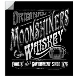 MOONSHINE FOOLIN' STICKERS