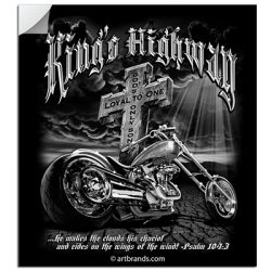 KING'S HIGHWAY STICKERS