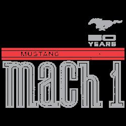 MUSTANG 50 YEARS MACH 1