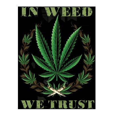 WEED WE TRUST