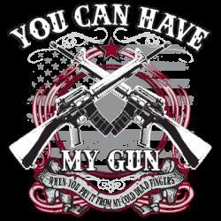 HAVE MY GUN W/CREST