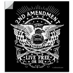 LIVE FREE OR DIE STICKERS
