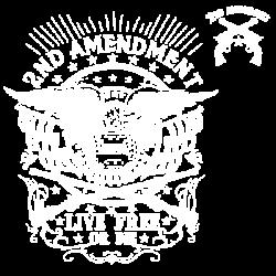 TEMP-LIVE FREE OR DIE W/CREST