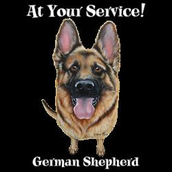 LOVE ME DOGS GERMAN SHEPHERD