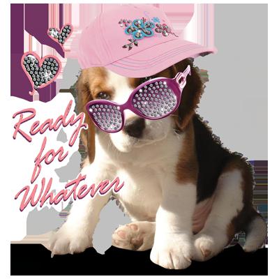 PUPPY HAT RHINESTONES