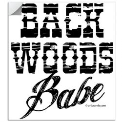 BACKWOODS BABE STICKERS