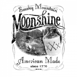 TEMP-SMOKY MOUNTAIN MOONSHINE BLACK