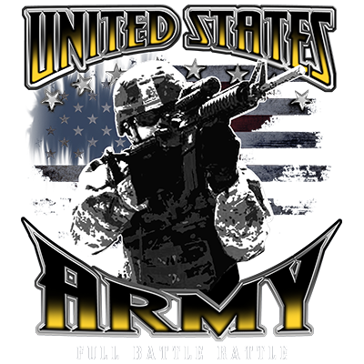 US ARMY FULL BATTLE RATTLE
