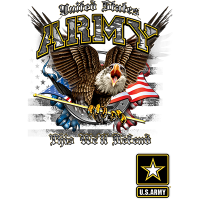US ARMY THIS WE?LL DEFEND W/CREST