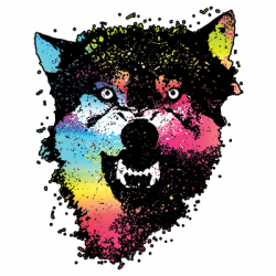 COLORFUL WOLVES