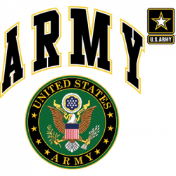US ARMY SEAL W/CREST