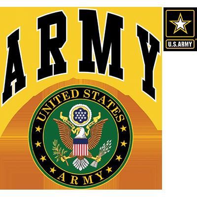 US ARMY SEAL W/CREST