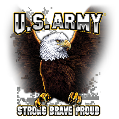 U.S. ARMY STRONG BRAVE PROUD