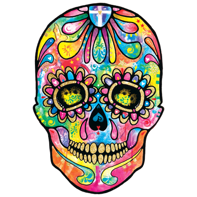SUGAR SKULL-DAY OF THE DEAD