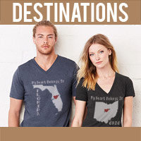 Destinations Heat Press Transfers