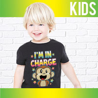 Kids Heat Press Transfers
