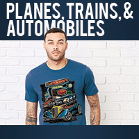 Planes, Trains & Automobiles Heat Press Transfers