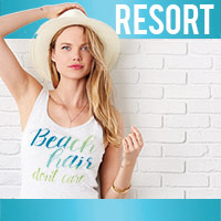 Resort Heat Press Transfers