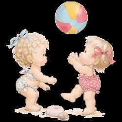 BEACH GIRLS WITH BEACH BALL
