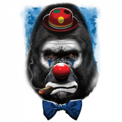 GORILLA CLOWN