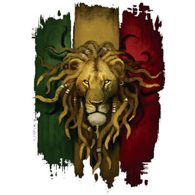 rasta lion heat transfers t shirt transfers iron on transfers