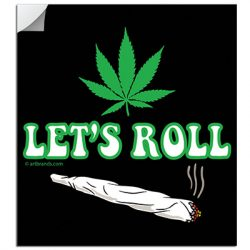 LET'S ROLL STICKERS