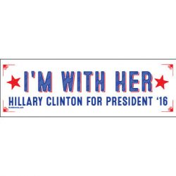 I'M WITH HER STICKERS