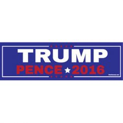 TRUMP PENCE 2016 STICKERS