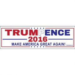 TRUMP PENCE AMERICA STICKERS