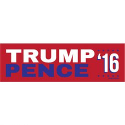 TRUMP PENCE 16 STICKERS