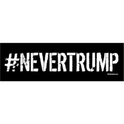 NEVER TRUMP STICKERS