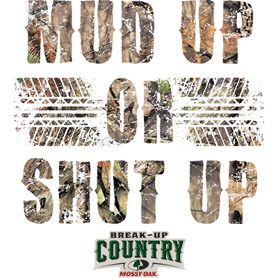 MUD UP MOSSY OAK