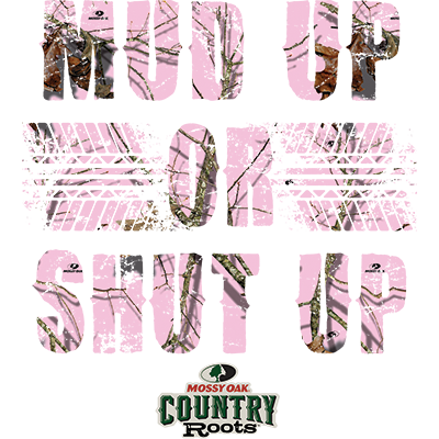 MUD UP MOSSY OAK PINK