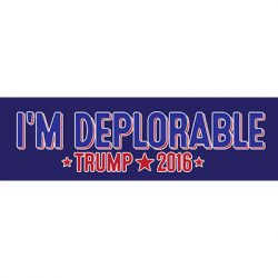 I'M DEPLORABLE STICKERS