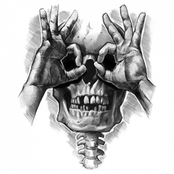 LUCTUS SKULL HANDS (DARKS ONLY)