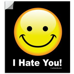 I HATE YOU! STICKERS