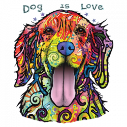 DOG IS LOVE